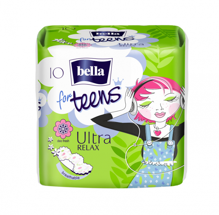 Absorbante Bella For Teens Ultra Relax 10 buc. [0]
