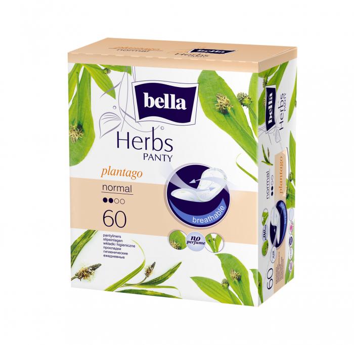 Absorbante Bella Herbs Panty Plantago 60 buc. [0]