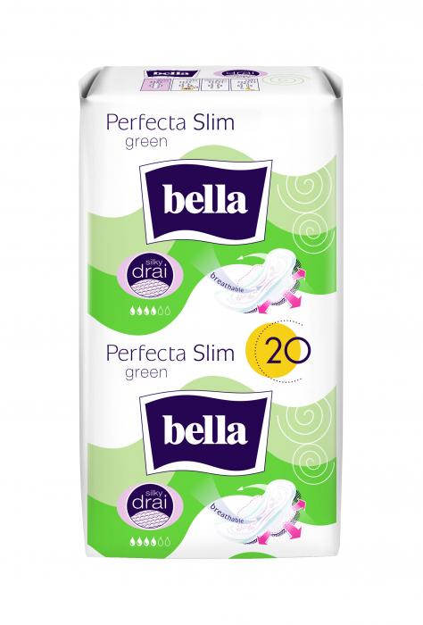 Absorbante Bella Perfecta Duo Green 20 buc. [0]