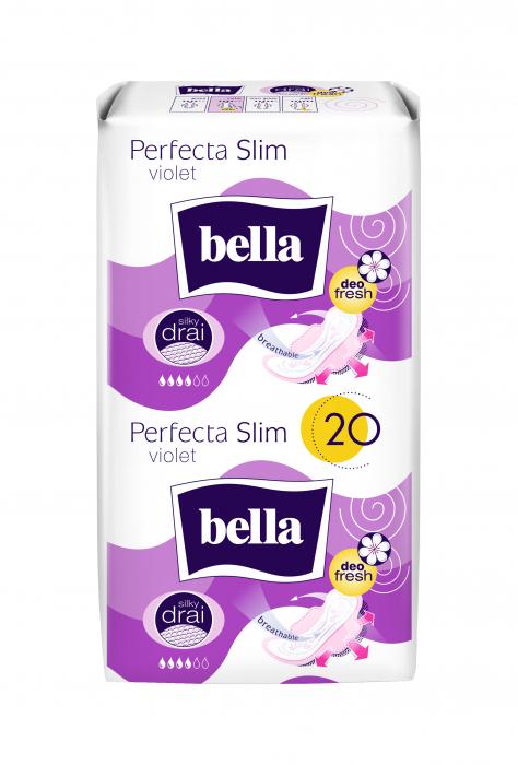 Absorbante Bella Perfecta Duo Violet 20 buc. [0]