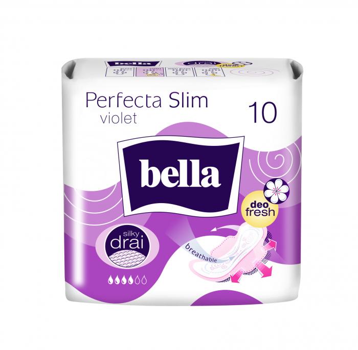 Absorbante Bella Perfecta Violet 10 buc. [0]
