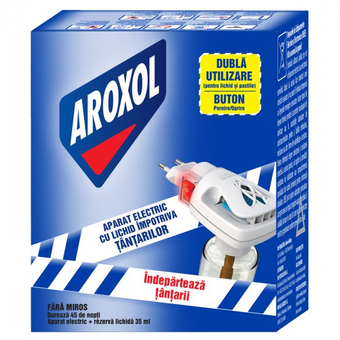 Aparat Aroxol Electric Cu Lichid Impotriva Tantarilor [0]