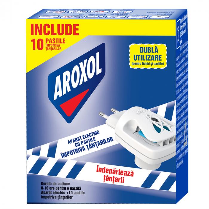 Aparat Aroxol Electric Cu Pastile Impotriva Tantarilor [0]