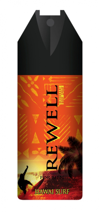 Deospray Well Done For Men Rewell Hawai Surf 150 ml [0]