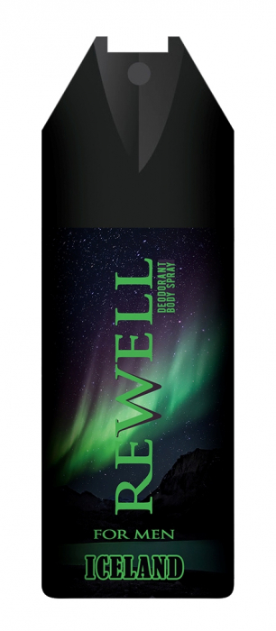 Deospray Well Done For Men Rewell Iceland 150 ml [0]