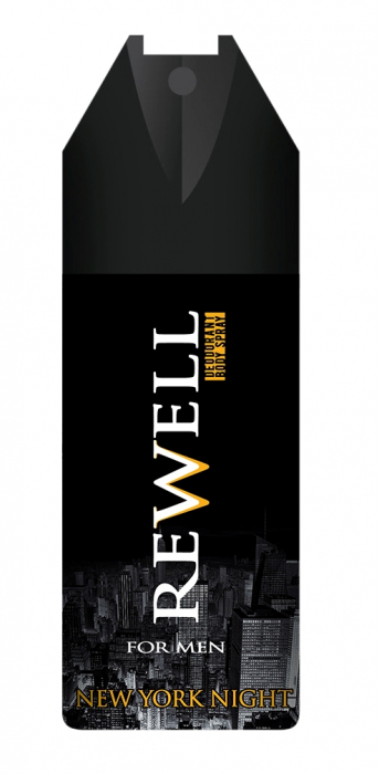Deospray Well Done For Men Rewell New York Night 150 ml [0]