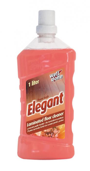 Detergent Well Done Parchet Laminat & PVC Elegant 1000 ml [0]