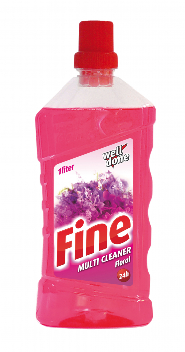 Detergent Well Done Universal Multicleaner Fine Floral 1000 ml [0]