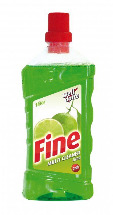 Detergent Well Done Universal Multicleaner Fine Lime 1000 ml [0]