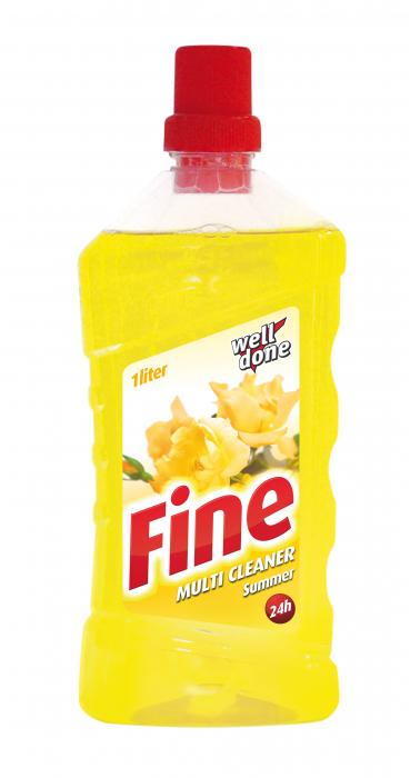Detergent Well Done Universal Multicleaner Fine Summer 1000 ml [0]