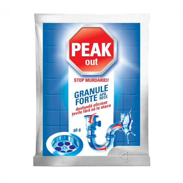 Granule Peak Out Pentru Desfundat Tevi Apa Rece 60 g [0]