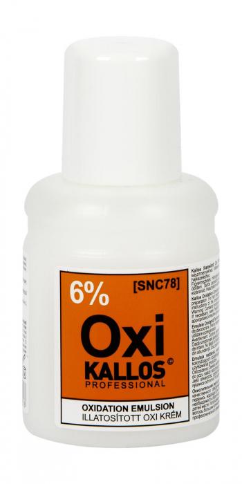 Oxidant Kallos Parfumat 6% 60 ml [0]