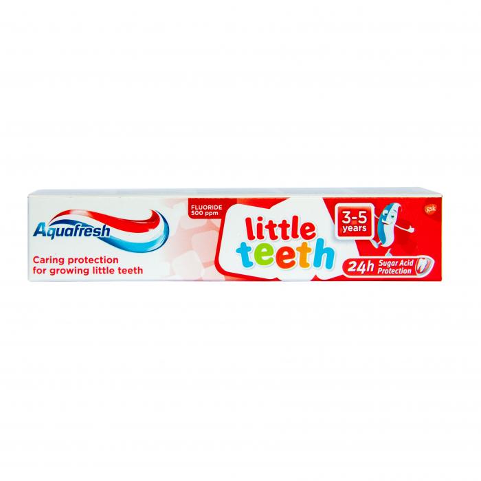 Pasta De Dinti Aquafresh Little Teeth 3-5 ani 50 ml [0]