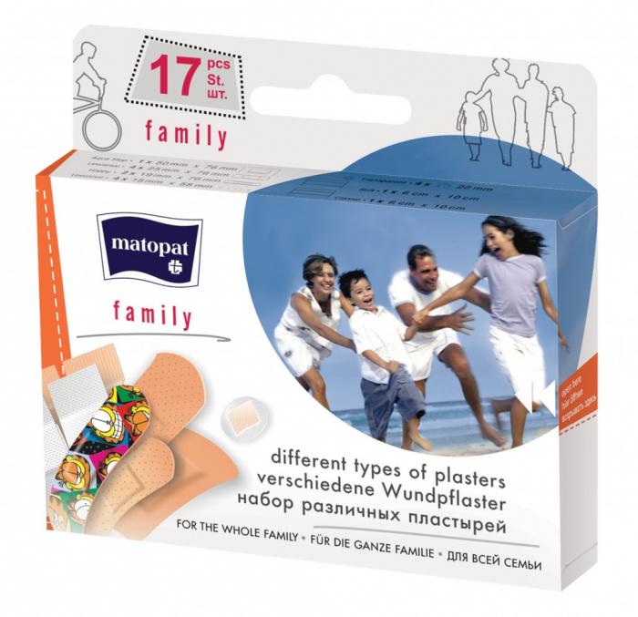 Plasturi Matopat Family 17 buc. [0]