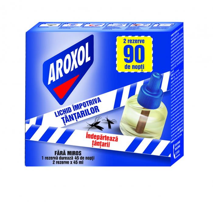 Rezerve Aroxol Lichid Impotriva Tantarilor 2 buc. [0]