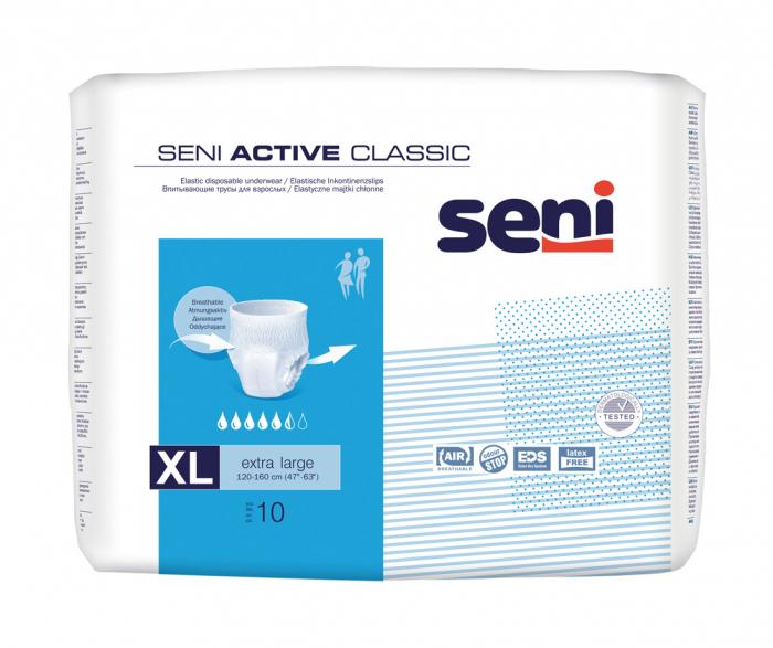 Scutece Adulti Seni Active Clasic Extra Large 10 buc. [0]
