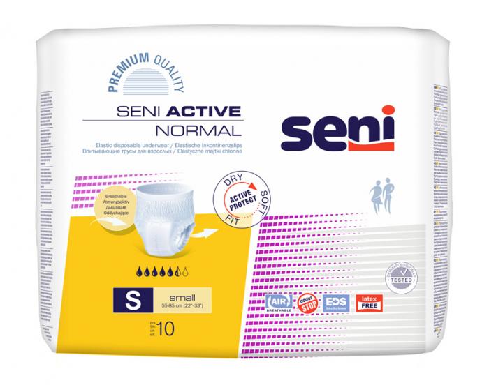 Scutece Adulti Seni Active Normal Chilot Small 10 buc. [0]