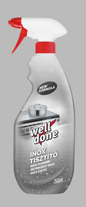 Solutie Well Done Pentru Curatare Suprafete Din Inox 750 ml [0]