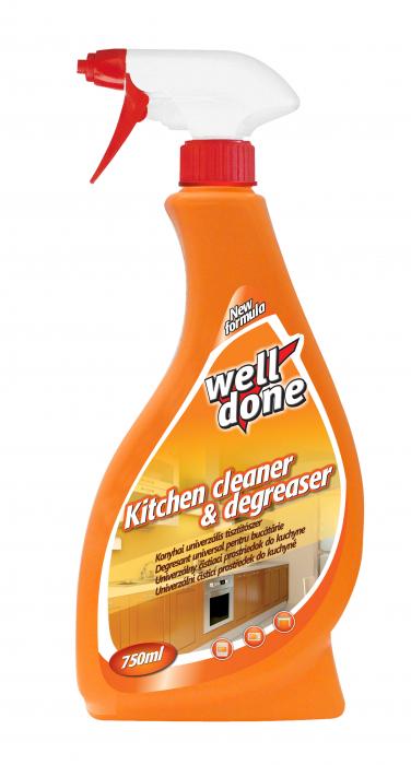 Solutie Well Done Universala Pentru Bucatarie 750 ml [0]