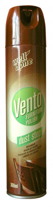 Spray Well Done Curatare & Protejare Mobila Vento Dust Stop 300 ml [0]