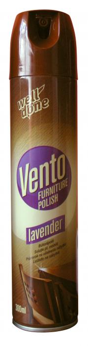 Spray Well Done Curatare & Protejare Mobila Vento Lavanda 300 ml [0]