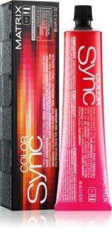 Vopsea Matrix Color Sync 6A Blond Inchis Cenusiu 90 ml [0]