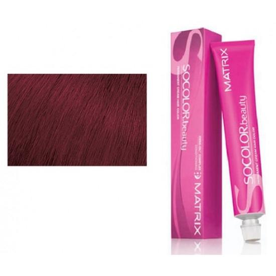 Vopsea Matrix Socolor Beauty 4RV+ Saten Mediu Rosu Violet 90 ml [0]