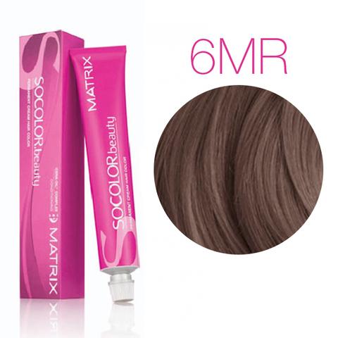 Vopsea Matrix Socolor Beauty 6MR Blond Inchis Moca Rosu 90 ml [0]