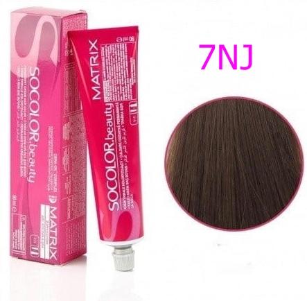 Vopsea Matrix Socolor Beauty 7NJ Blond Mediu Jad Natural 90 ml [0]