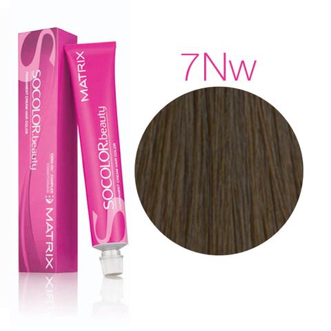 Vopsea Matrix Socolor Beauty 7NW Blond Mediu Natural Cald 90 ml [0]