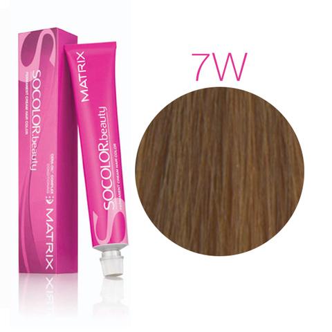 Vopsea Matrix Socolor Beauty 7W Blond Mediu Cald 90 ml [0]