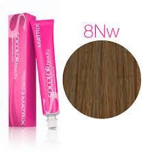 Vopsea Matrix Socolor Beauty 8NW Blond Mediu Natural Cald 90 ml [0]