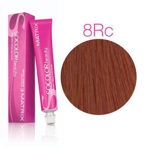 Vopsea Matrix Socolor Beauty 8RC Blond Deschis Rosu Cupru 90 ml [0]