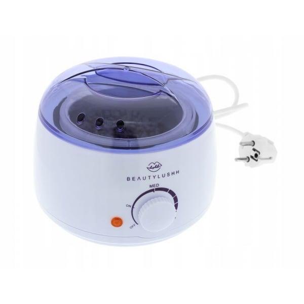 Aparat pentru incalzit ceara de epilare 100W temperatura reglabila 400ml  indicator LED  BeautyLushh 2