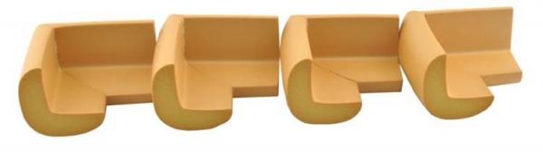 Aparatori moi pentru colturi masa forma L camera copilului,culoare maro set/4buc 2