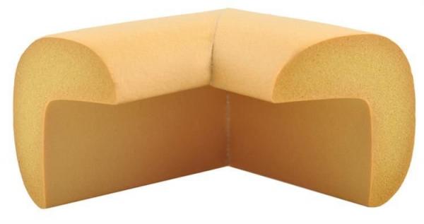 Aparatori moi pentru colturi masa forma L camera copilului,culoare maro set/4buc 1