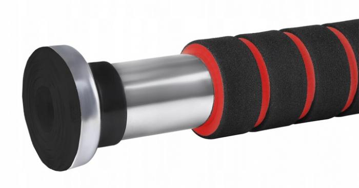 Bara tractiuni telescopica cu prindere pe usa, 61-100 cm, otel [4]