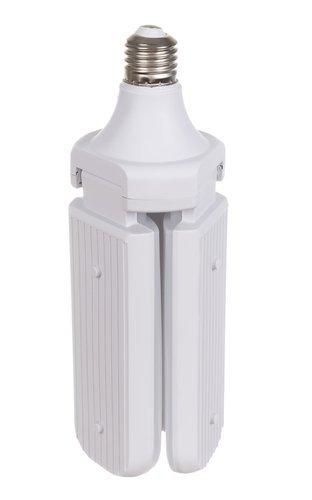 Bec LED pliabil  tip candelabru cu trei brate E27 45W 6500K [1]