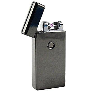 Bricheta electrica antivant, 5V, incarcare USB, Neagra cutie cadou inclusa [0]