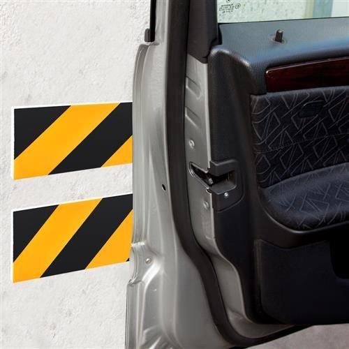 Burete de protectie a usilor de masina reflectorizant 10x50 cm pentru garaj 10 bucati 0
