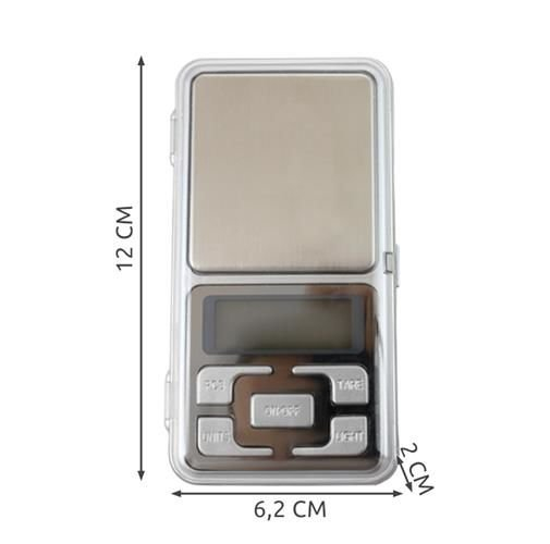Cantar Electronic Mini  500g, Precizie de 0,1 g cu Functie Tara [5]