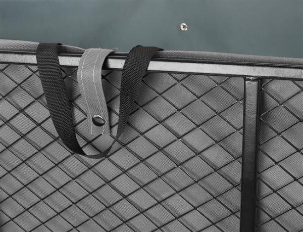 Carucior transport gradina 350 kg,roti pline PU maner reglabil,rabatabil  husa capacitate 250 litri Malatec 8