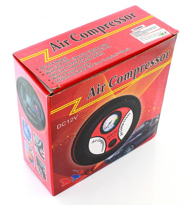 Compresor auto in forma de anvelopa 12V 260PSI 4