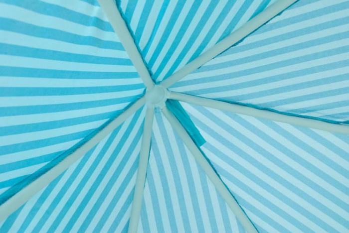 Cort pentru copii castel printese, 89cm, albastru pliabil [2]