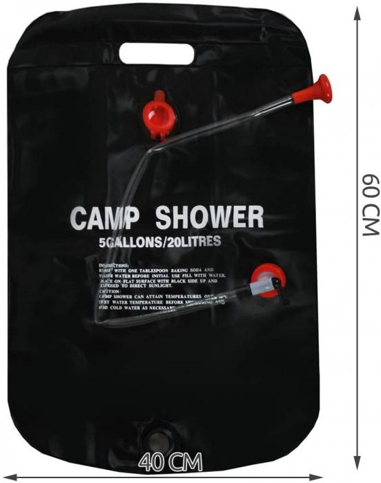Dus portabil camping 20 litri [7]