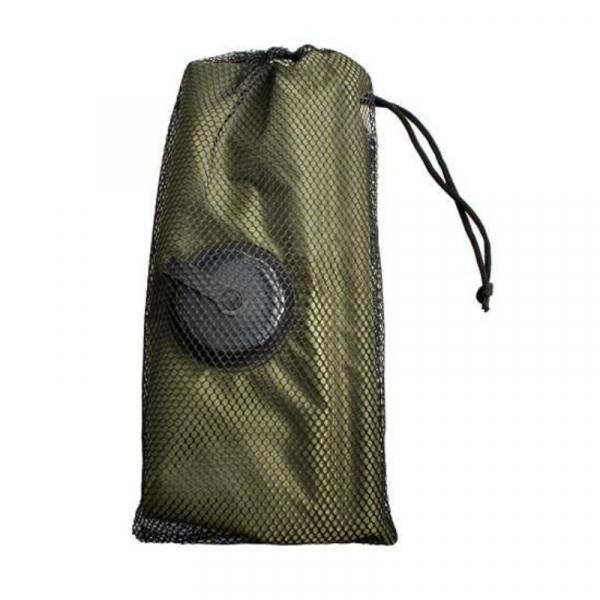 Dus solar portabil pentru camping, MT MALATEC, capacitate 20 litri, termometru, buzunar dublu 3