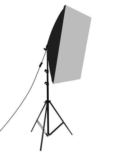 Softbox pentru Studio Foto cu Suport Trepied Reglabil 80-200cm 50x70cm  set 2 bucati +2 becuri 150w incluse [5]