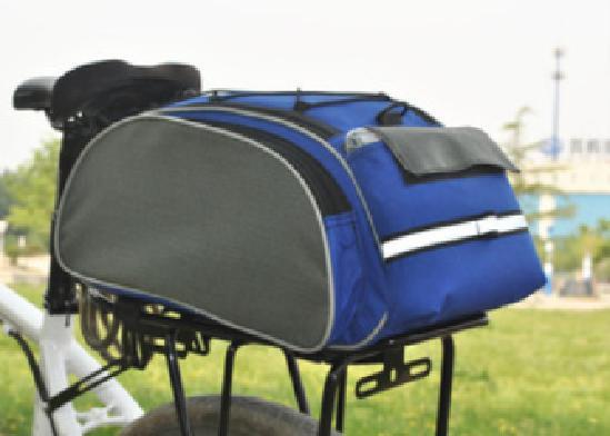 Geanta 4 Compartimente Biciclete de Portbagaj albastra 2