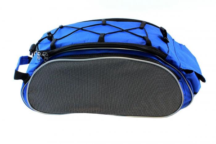 Geanta 4 Compartimente Biciclete de Portbagaj albastra 1