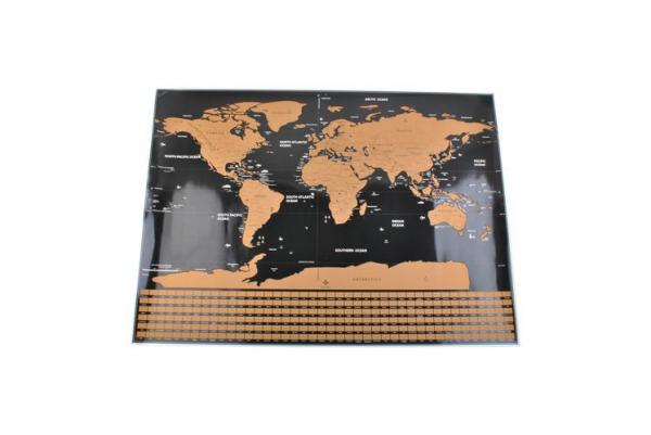 Harta lumii razuibila, 82x59 cm, text cartografie limba engleza, drapeluri [4]